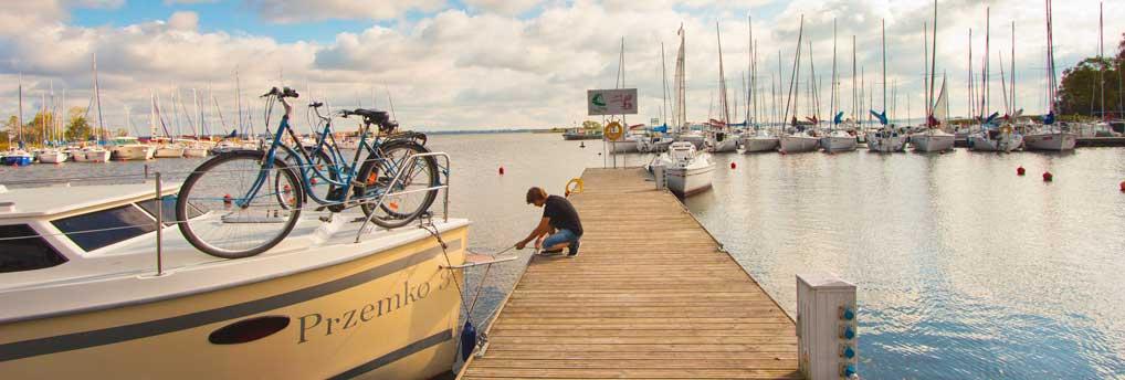 Hausbooturlaub in Masuren beginnt in Gizycko einem schönen Ferienort im Land der Tausend Seen.