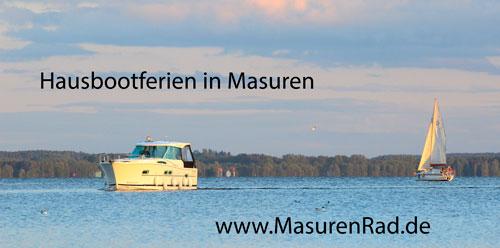 Hier chartern Sie Hausboot in Masuren! Klicken!