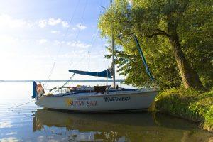 Segelboot in Masuren