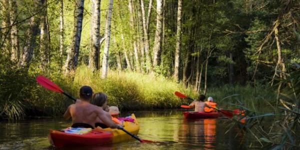 Kanutour auf dem Sapina Fluss