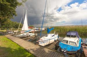 Motorbootsverleih-Masuren