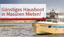 Hausboot Calipso Masuren Mieten