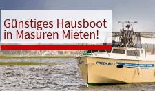 Hausboot Calipso Masuren Mieten