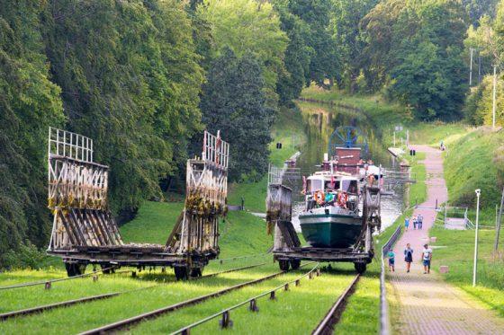 Elbinger Kanal Schiffahrt